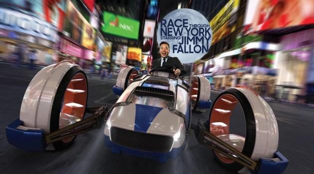 "Universal Orlando Resort ""Race Through New York Starring Jimmy Fallon"""