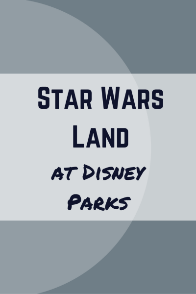 More details have been released about the upcoming Star Wars Land at Disney Parks including storyline, look and attractions.