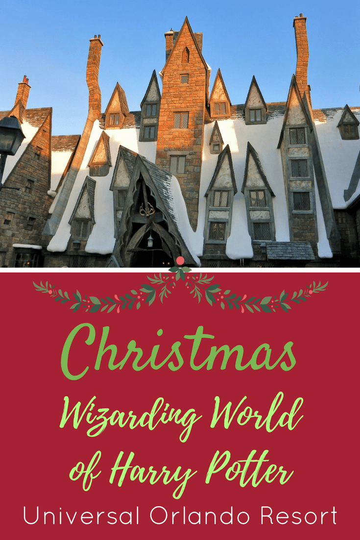 christmas is coming to the wizarding world of harry potter at universal orlando resort read