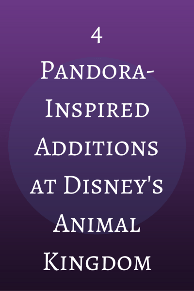 Check out these Pandora-inspired additions at Disney's Animal Kingdom.