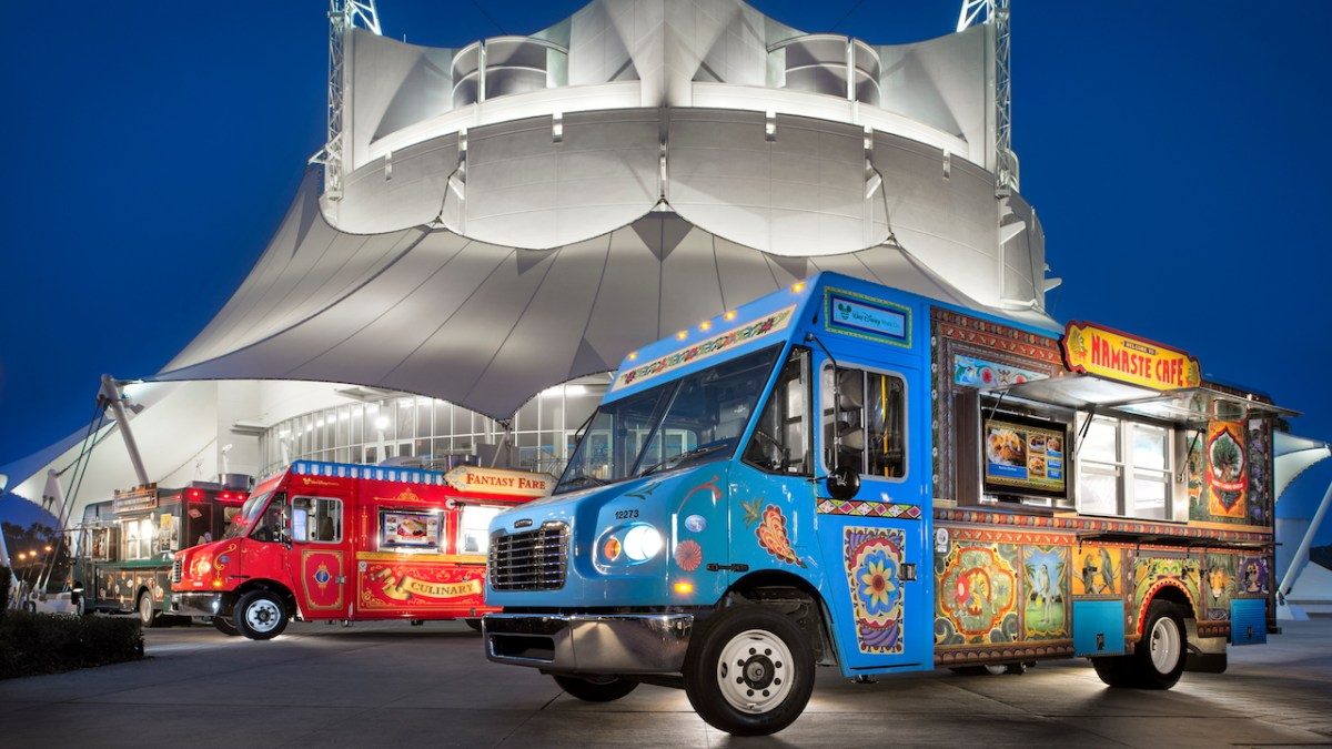 Food Trucks at Disney Springs - Springs Street Eats