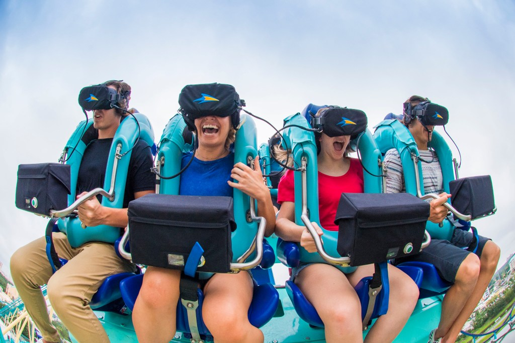 New Virtual Reality Kraken Unleashed RPOV with Riders