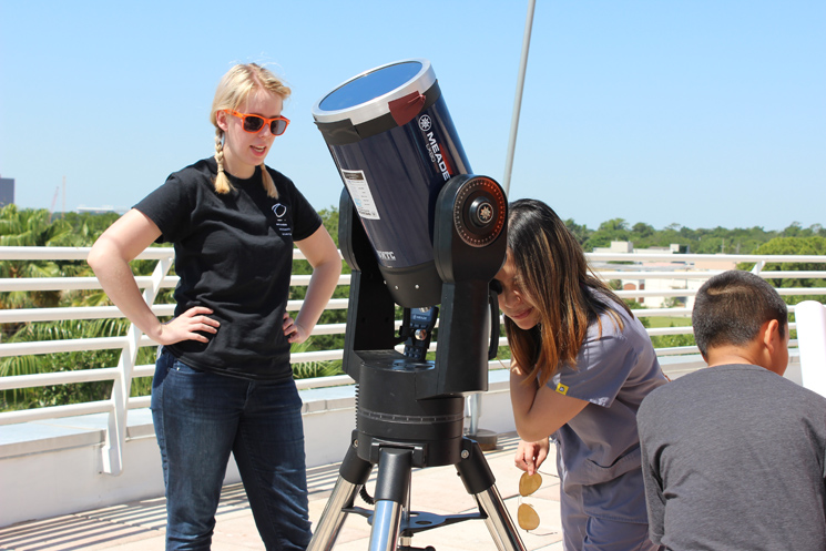 It's the first total solar eclipse in 99 years! Find out more about the solar eclipse viewing and activities happening at Orlando Science Center.