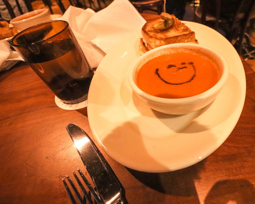 The Edison Grilled Cheese and Tomato Bisque