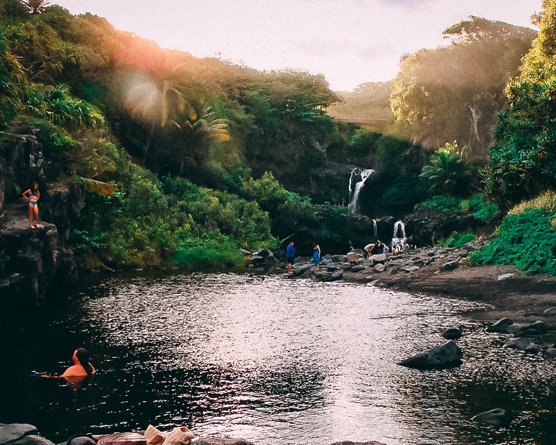 visit hawaii maui seven sacred pools