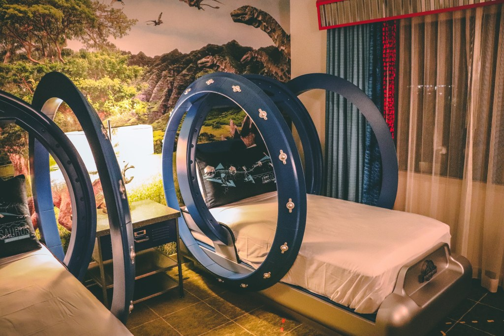 Jurassic World Kids Suite at Royal Pacific