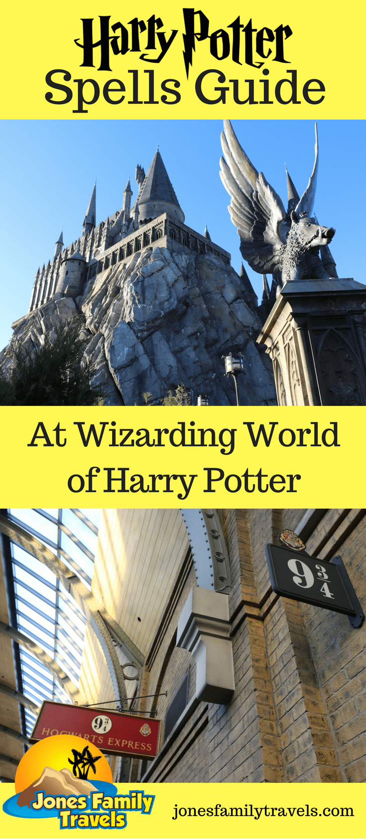 Harry Potter Spells   Guide to Interactive Wand Spells at Universal