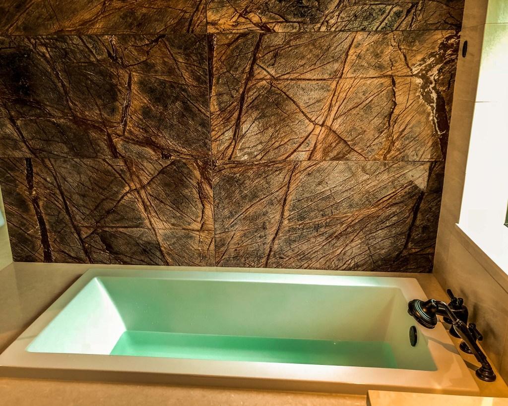 Copper Creek Cabins Master Bath