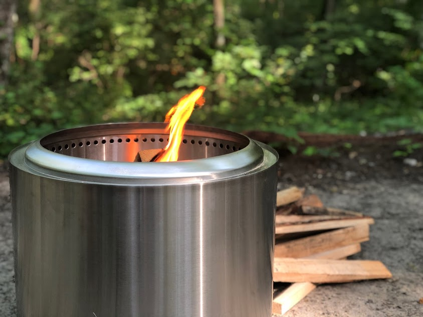 how does solo stove bonfire work