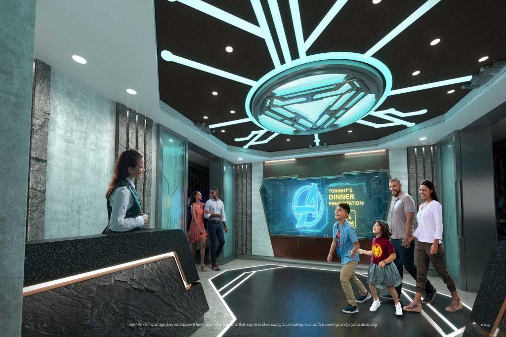 Disney Wish Marvel Dining Experience