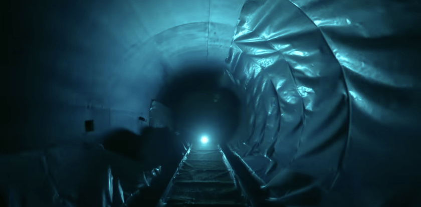 Inside the AquaMouse: Tunnel