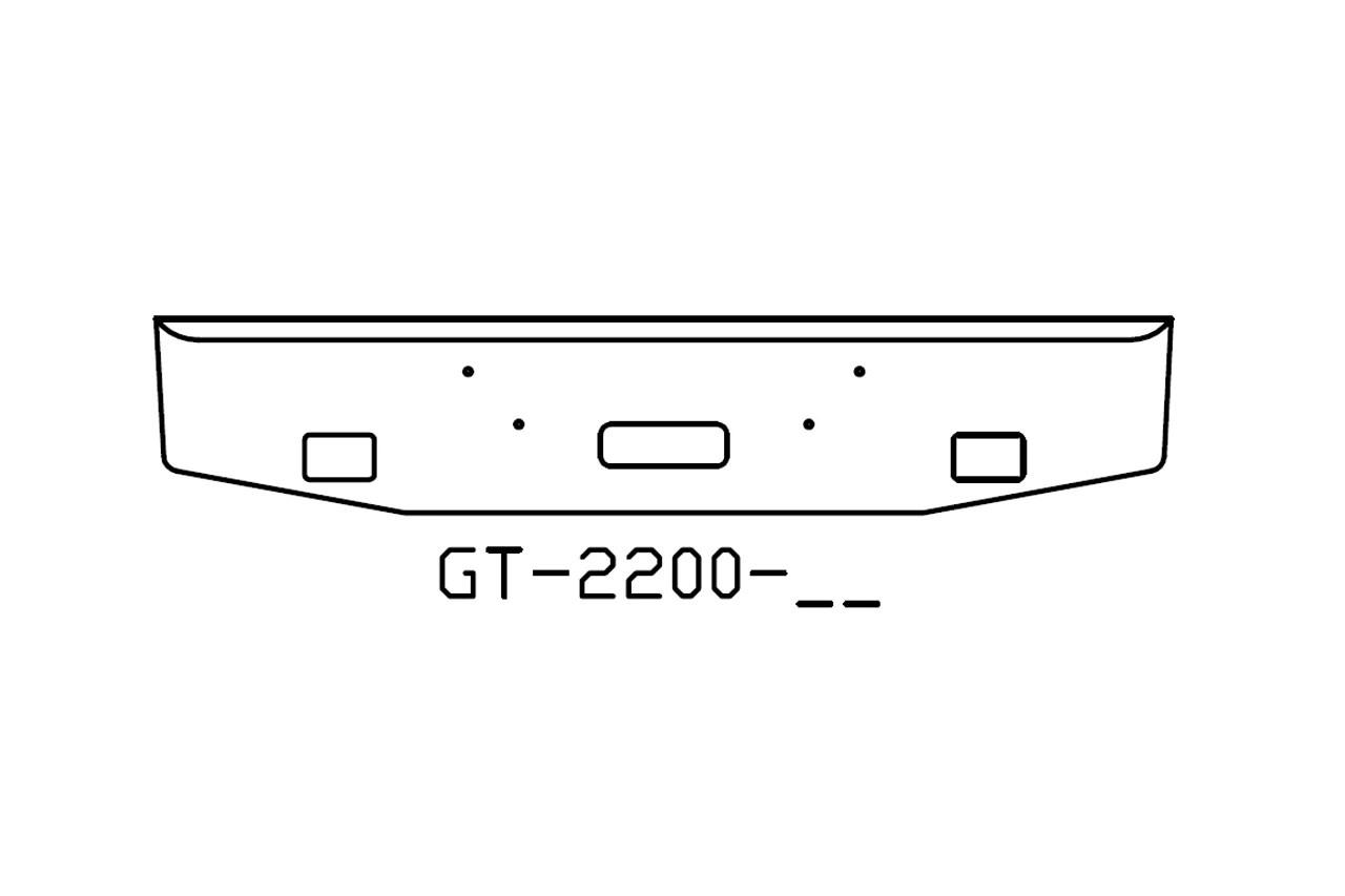 V Gt 02 Aftermarket Fits Mack Granite 16 Bumper