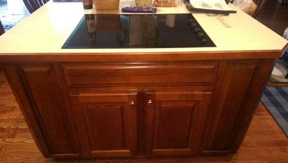 Before Cabinet Refurbishing
