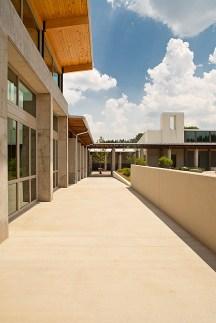 Courtyard view toward Abey Store & Cafe Garden