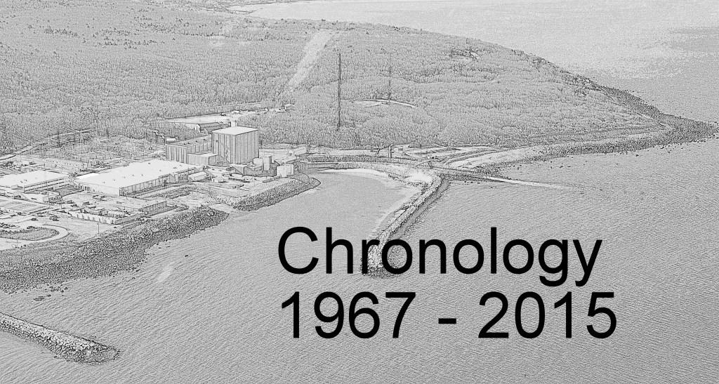 Pilgrim Chronology 1967-2015 – Jones River Landing