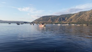 photo of salmon fisherman in Brewster, WA