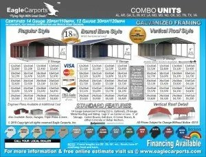 Eagle Carports Steel Buildings Jones Vacuum Center
