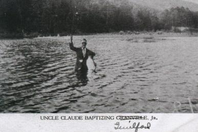 Claude Baptizing Guilford Jones, Jr.