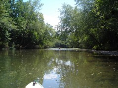 Caddo River fishing
