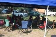 Nichols clan tent city