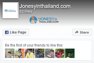 facebook logo for jonesy in Thailand