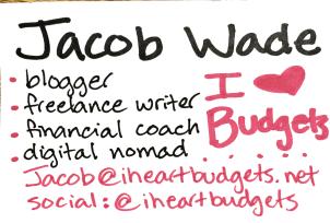 Jacob Wade iHeatbudgets