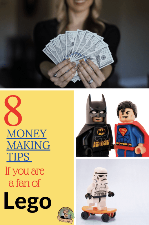 Did you know you could invest in Legos (sort of)? Here are 8 money making tips for successful investing! #AFOL #Lego #investing #starwars #legostarwars