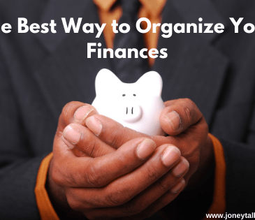 piggy bank organize finances