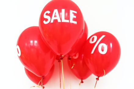 Sales #discount #frugality
