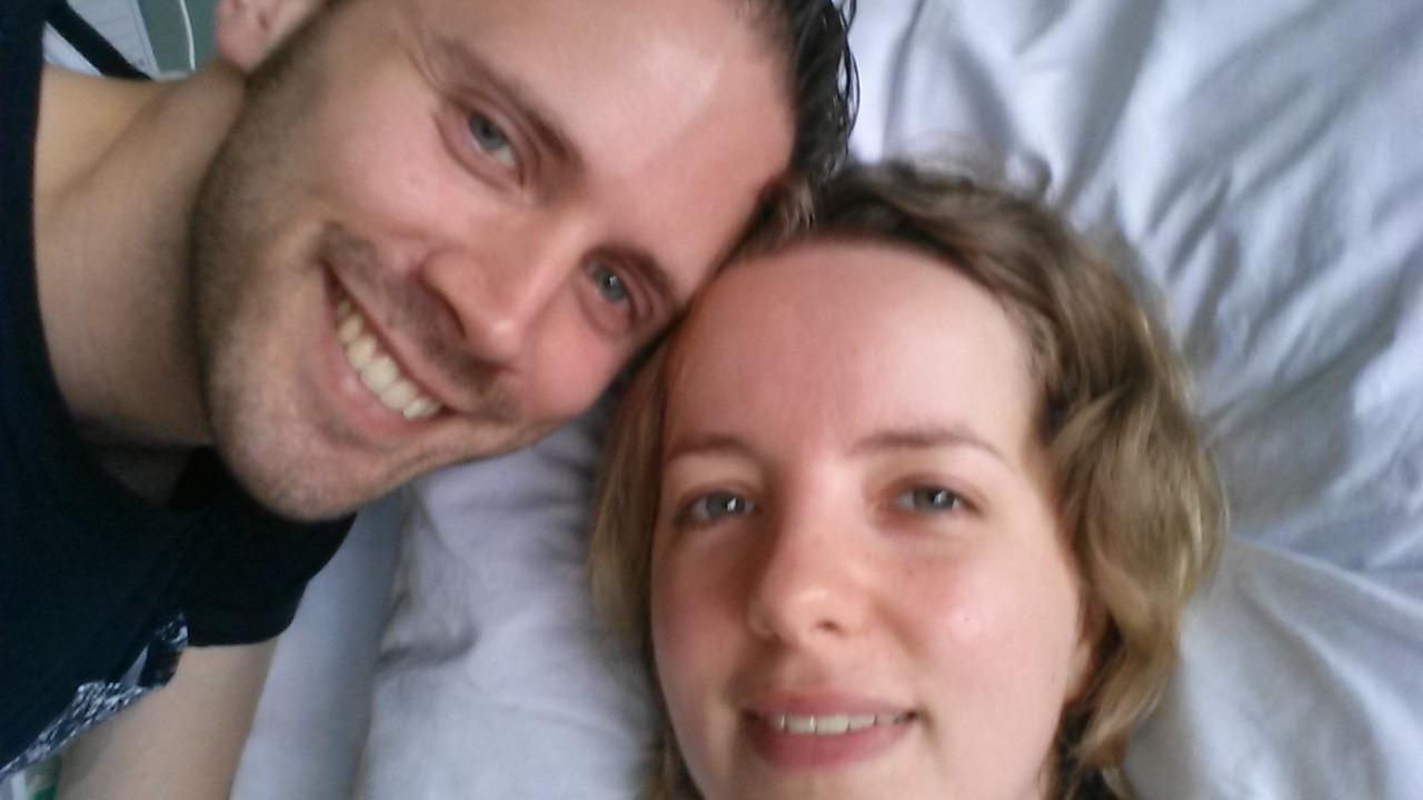 Dag na operatie: beetje opgeknapt