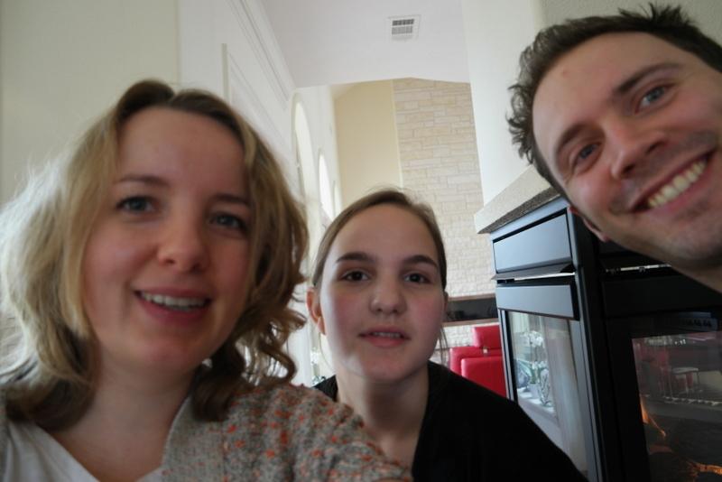 Met mijn mooie zusje tijdens een zeldzaam fotomoment ;-)