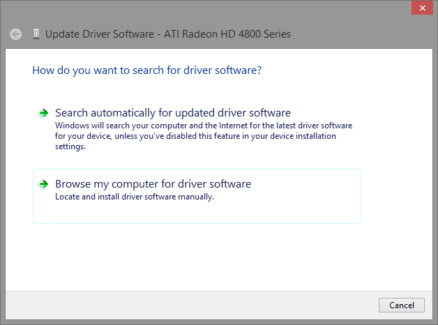 Windows 8 1 and Legacy ATi/AMD Graphics Drivers | Jon Gibbins