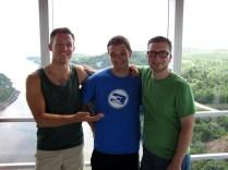 The three summer camp teachers