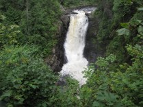 Moxie Falls, the tallest fall in Maine