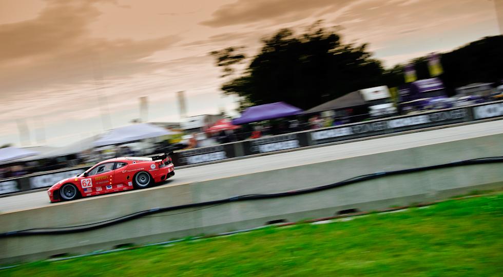 Ferrari at ALMS Race at Road America