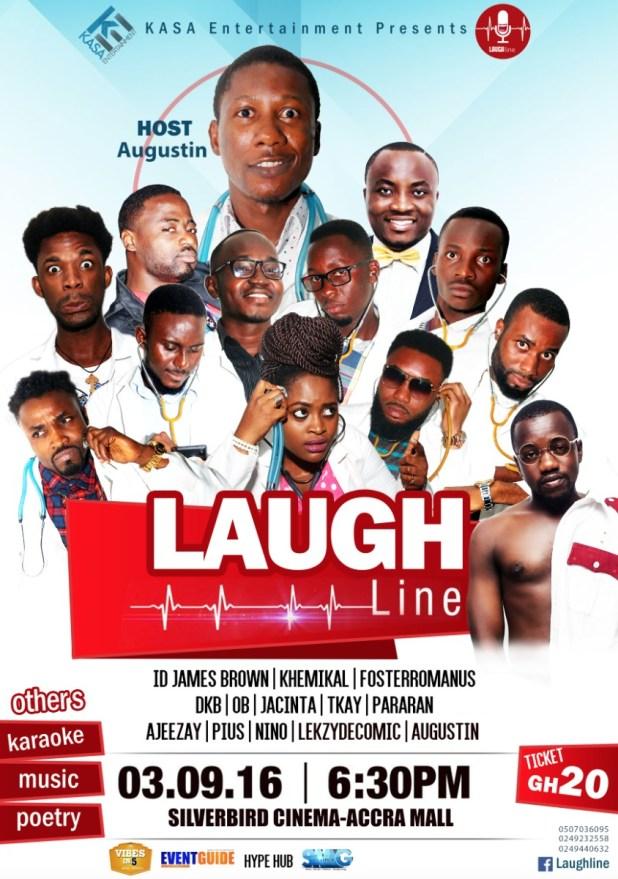 Laughline comedy