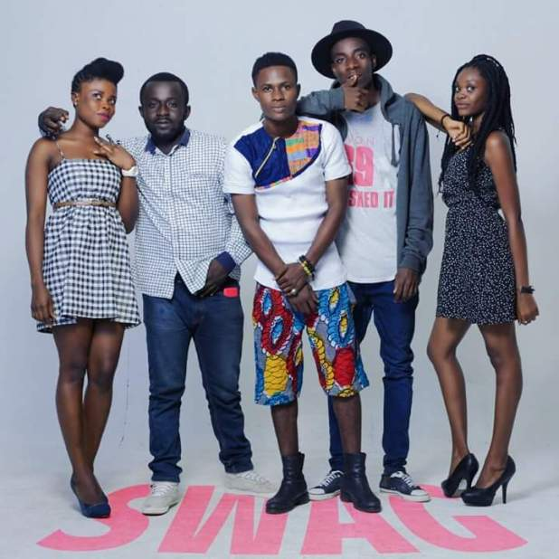 Kwame Baah and his hard-working team