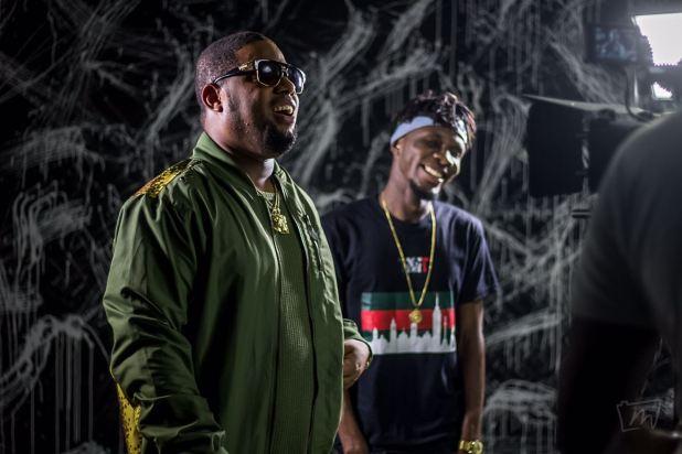 D-Black and beat-maker Dj Breezy