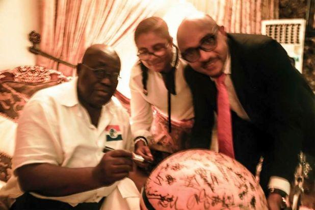 Nana Addo endorses the Ghana+Peace Campaign