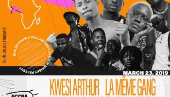 MiYAKi clashes with Kwesi Arthur this weekend at ATTC    Jonilar