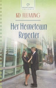 cover of novel showing couple outside a building