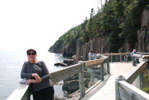 #Canada150 #ExploreNB vacation Balancing rock