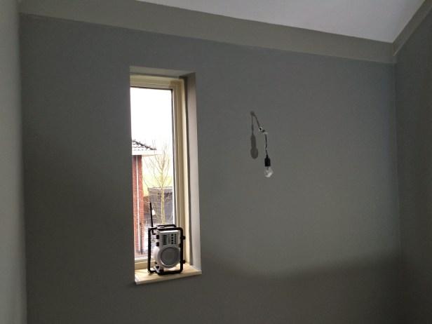 slaapkamer muur schilderen