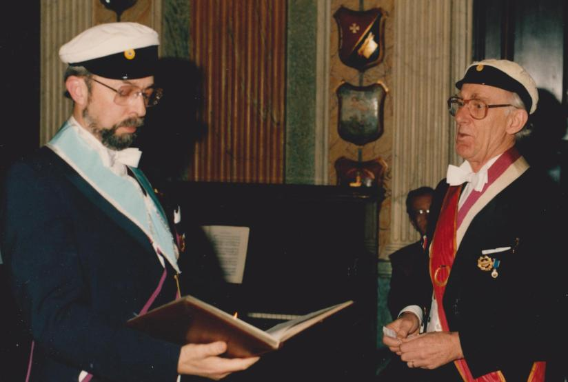 P-O Kallings och Vikar Säfvestad 1986