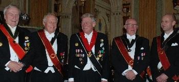 Glada medaljörer