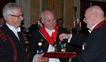 Medalj till OWM Magnus Ilvered