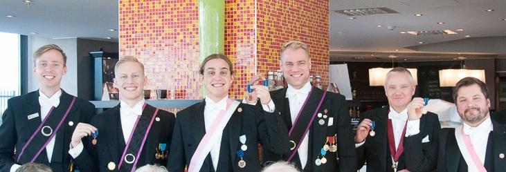 Fler medaljörer
