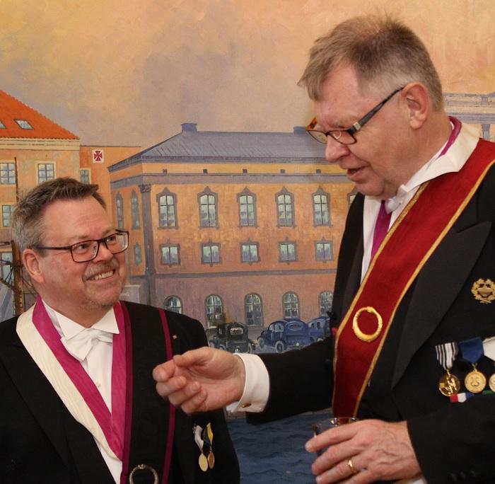 Stefan Klingberg och Mats Thilén
