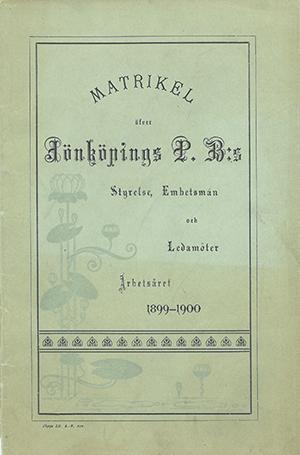 JPB Matrikel 1899-1900