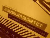 Shostakovich String Quartet entire cycle, Alice Tully Hall The Jerusalem Quartet